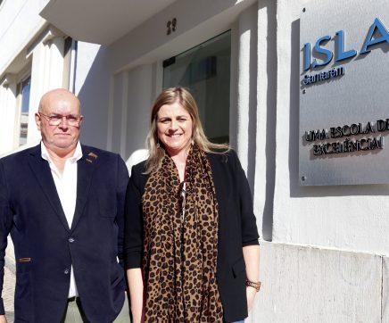 """""""A missão do ISLA conjuga ensino e investigação com os olhos postos no futuro e num mundo em constante mudança"""""""