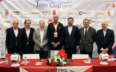 VÍDEO | Luisão emocionado por ser patrono do Tejo Cup