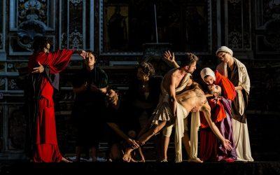 Os Quadros Vivos de Caravaggio um espectáculo a não perder na Catedral de Santarém