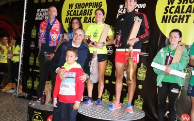 Santarém a correr e a andar na 'W Shopping Scalabis Night Race'