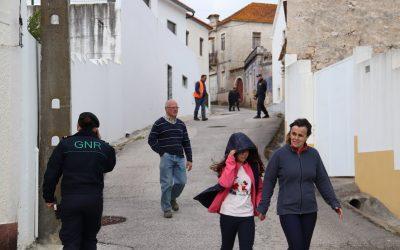 FOTOS | População do Canal simulou situação de emergência em caso de incêndio
