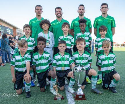 Sporting Clube de Portugal vence escalão sub8 no Torneio José Peseiro