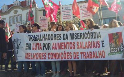 Trabalhadores da União das Misericórdias reúnem-se Fátima por melhores salários