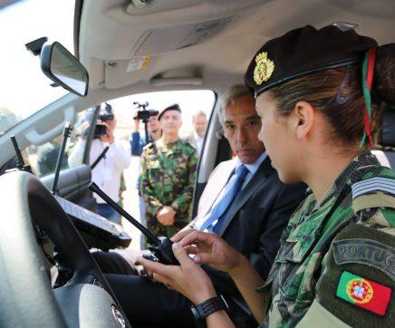 Exército recebe 23 novas viaturas para ações de prevenção dos fogos rurais em Abrantes