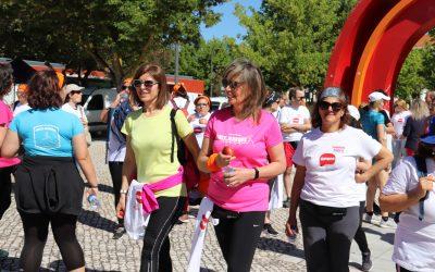 Caminhada Solidária contra a Esclerose Múltipla junta dezenas de pessoas em Santarém
