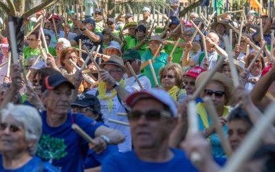 Encontro Nacional de Desporto Sénior junta duas mil pessoas em Almeirim