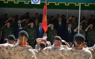 VÍDEO | Santarém recebe Cerimónia do Estandarte Nacional da 2ª Força Nacional destacada no Afeganistão