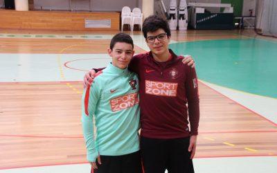 Vitória Clube de Santarém coloca dois atletas na Selecção Nacional Sub-15