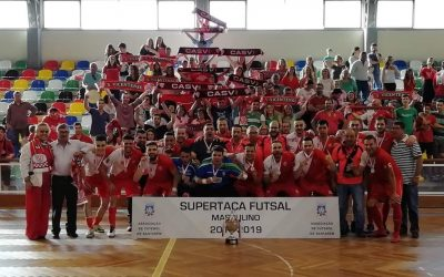 CAS Vicentense vence SuperTaça de Futsal