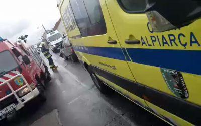 Colisão provoca dois feridos em Alpiarça