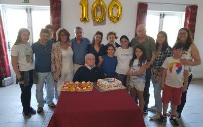 Adelino Cardoso comemora um centenário de vida