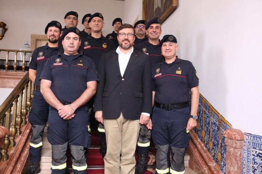 Autarquia de Santarém promove oito Bombeiros Municipais