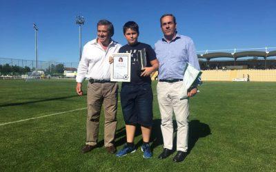 AF Santarém distingue jogadores premiados com cartão branco