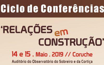 """Ciclo de Conferências """"Relações em Construção"""" em Coruche"""