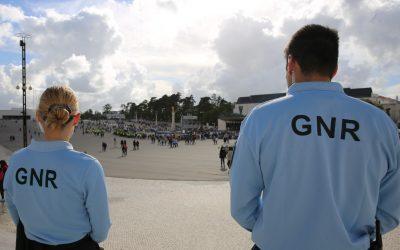 Operação de segurança policial na Bênção dos Capacetes em Fátima
