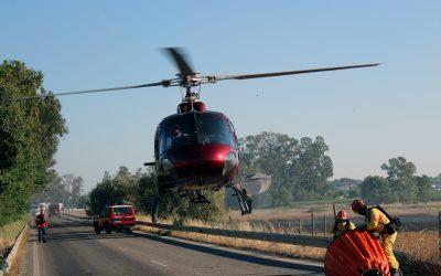 Fogo mobiliza mais de 70 bombeiros e dois meios aéreos em Benavente