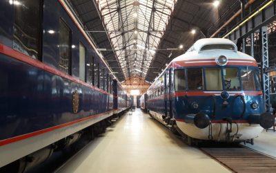 Museu Nacional Ferroviário nomeado para o prémio nacional de turismo 2020