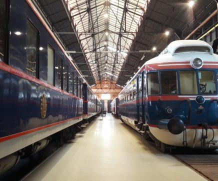 Museu Nacional Ferroviário de portas abertas no Dia e Noite dos Museus