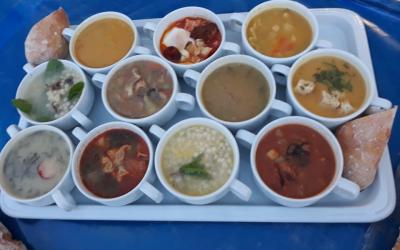 Sopas para todos os gostos em Fazendas de Almeirim