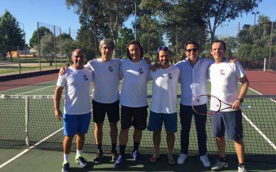 Veteranos do TenisAlmeirim sagram-se campeões regionais de equipas