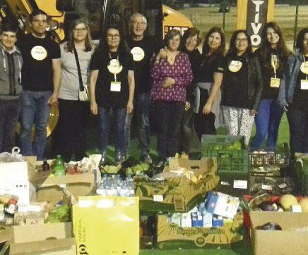 Re-Food Santarém resgata três toneladas de alimentos na Feira da Agricultura