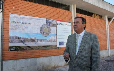 Mercado do Entroncamento reabilitado após obra de um milhão de euros