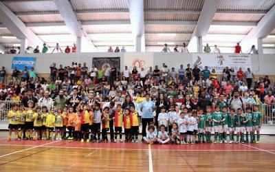 O maior e mais abrangente torneio de futsal de formação voltou a Santarém