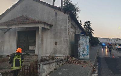 Antiga Capela de São Pedro vai ser demolida após queda de fachada
