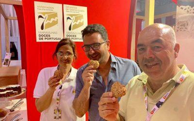 Celestes de Santa Clara e Arrepiados de Santarém  finalistas do distrito às 7 Maravilhas Doces de Portugal