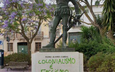 Estátua de Pedro Alvares Cabral alvo de vandalismo