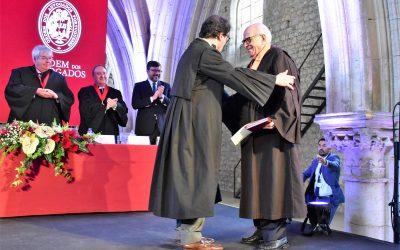 Martins Leitão agraciado com a Medalha de Honra da Ordem dos Advogados