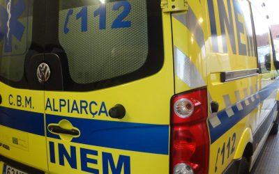 Atropelamento provoca um ferido grave em Alpiarça