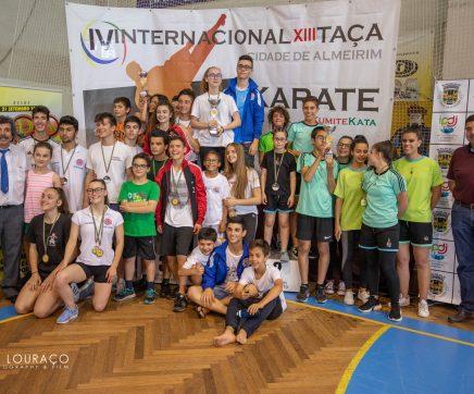 """KCF Faro vence 13ª edição da Taça de Karaté """"Cidade de Almeirim"""""""