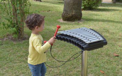 Chamusca instala instrumentos musicais no Parque Municipal