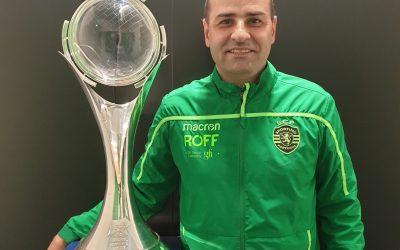 Treinador-adjunto de Futsal do Sporting dá formação em Santarém