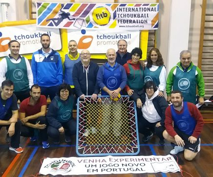Primeiro clube de Tchoukbol em Portugal nasce em Santarém
