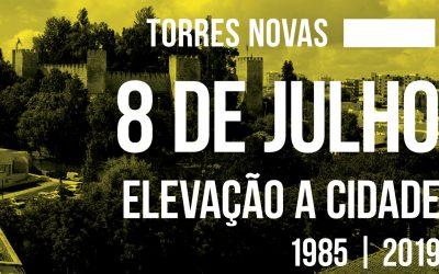 Torres Novas celebra 34 anos de elevação a cidade