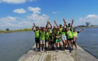 Clube de Canoagem Scalabitano no top 30 do Campeonato Nacional de Velocidade