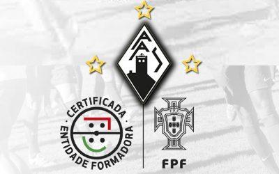 Académica de Santarém certificada como Entidade Formadora pela FPF