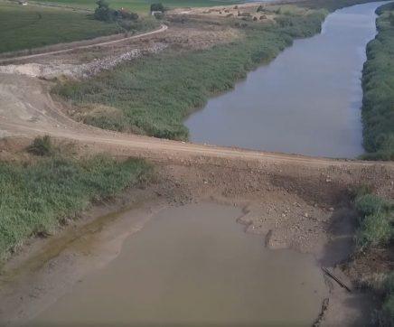 Câmara de Benavente pede solução que de futuro evite cortar o rio Sorraia