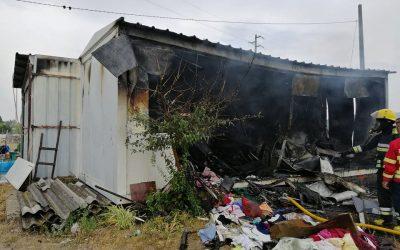Incêndio provoca dois desalojados em Samora Correia