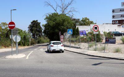 Troço da EN 114 que liga Santarém a Almeirim reabre ao trânsito
