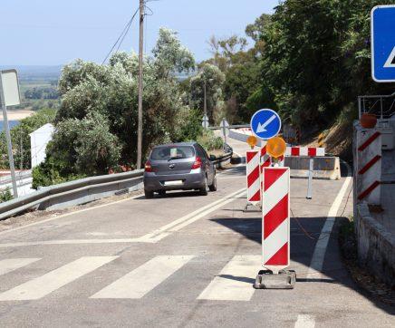 Troço da EN114 em Santarém volta a ser interditado ao trânsito