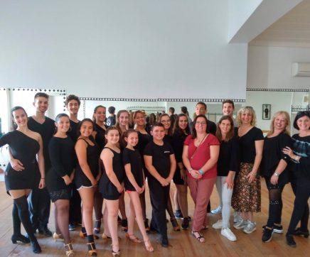 Campeã do mundo de Dança de Salão dá formação  a atletas de Santarém