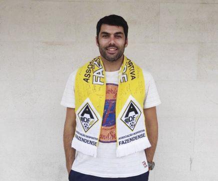 """Gonçalo Carvalho: """"A grande força do Fazendense são  as pessoas, são os 'charnecos'"""""""