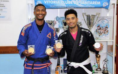 Atletas de Jiu-Jitsu do Vitória de Santarém conquistam pódios em Torres Novas