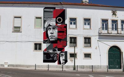 Antiga EPC vai ter mural de homenagem ao Capitão Salgueiro Maia