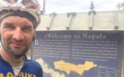 Atleta de Almeirim pedalou 10 mil quilómetros até ao Nepal e reuniu 11 mil euros para causas socais