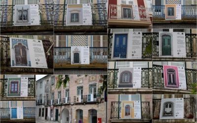 Portas e Janelas em exposição no Centro Histórico de Santarém