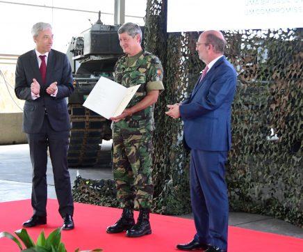 Brigada Mecanizada do Exército recebe 25º prémio da Defesa Nacional e Ambiente